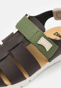 Camper - ORUGA KIDS - Sandals - dark brown - 5