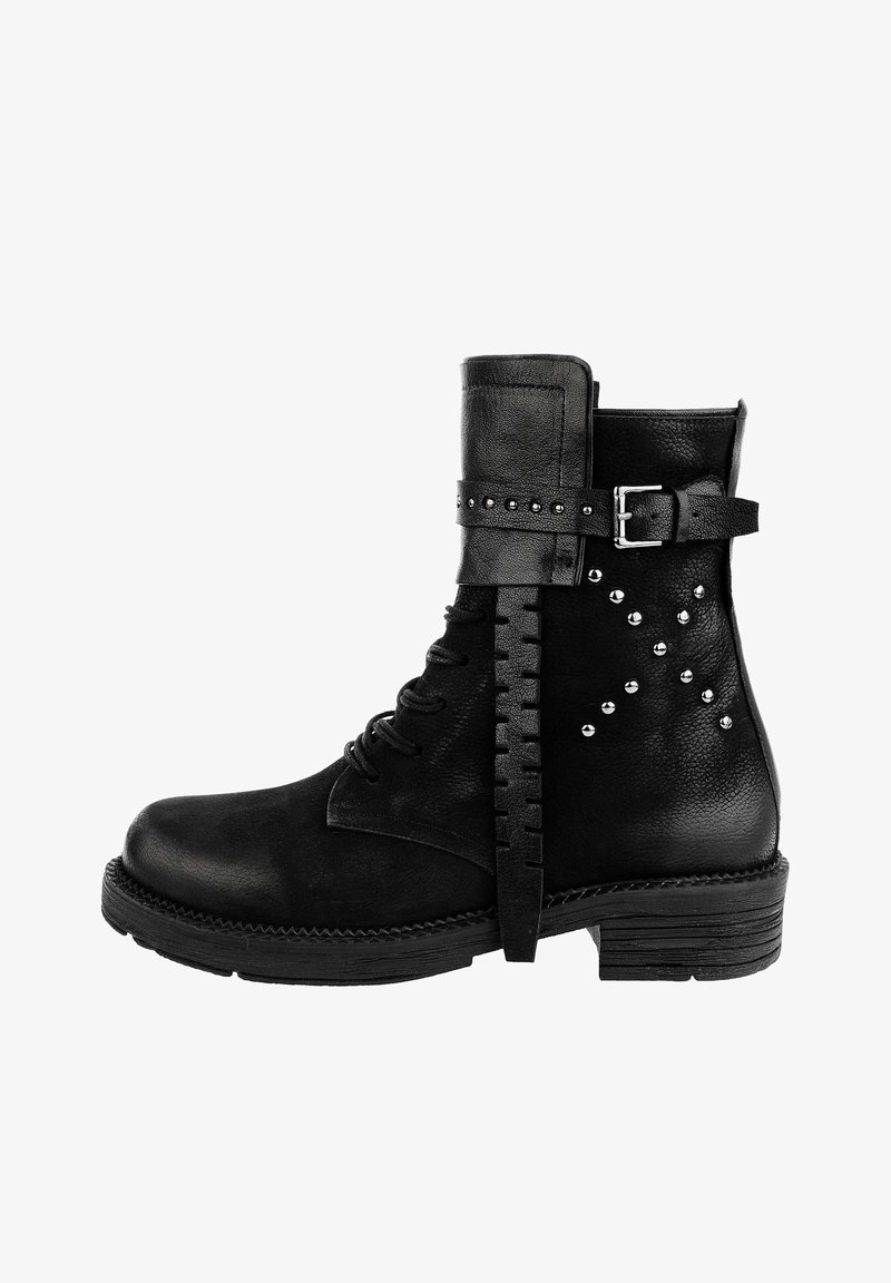 PRIMA MODA - RAVALLE  - Cowboy/biker ankle boot - black