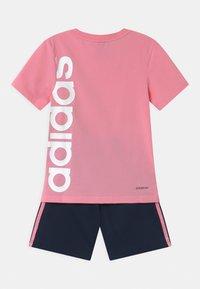 adidas Performance - BRAND SET UNISEX - Sports shorts - pink/dark blue - 1