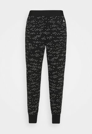 WIN PANT - Tracksuit bottoms - black/white