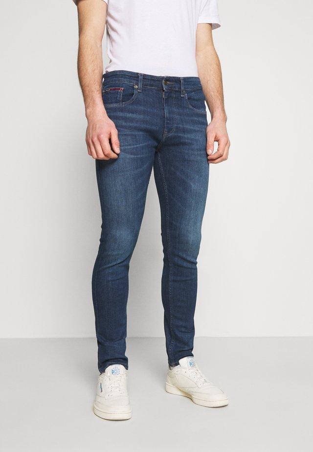 AUSTIN SLIM - Slim fit jeans - queens dark blue