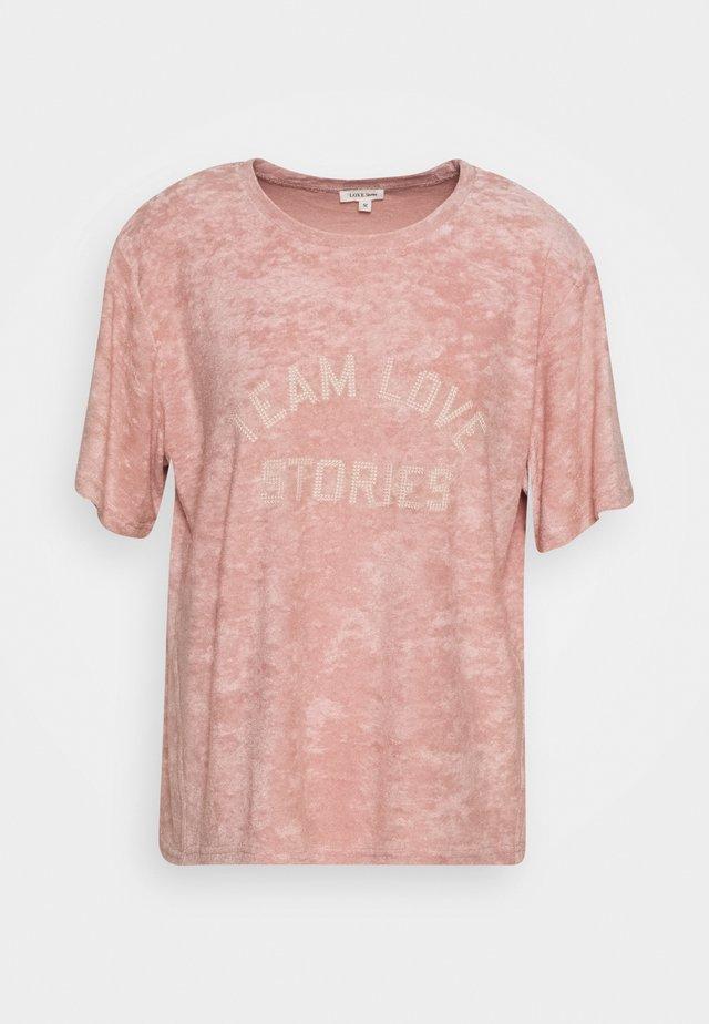JOSIE - Pyjama top - sepia rose