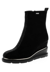 PRIMA MODA - SARENTINO - Wedge Ankle Boots - black - 1