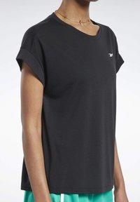 Reebok - WORKOUT READY SUPREMIUM DETAIL - Print T-shirt - black - 3