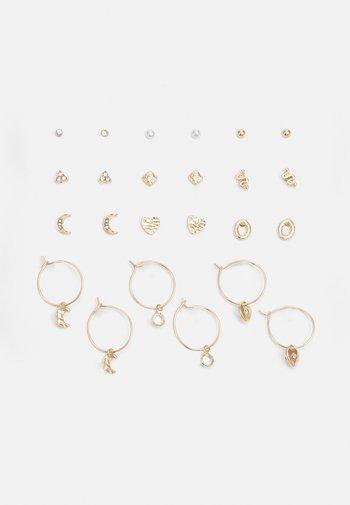 DREAMSCAPE EARRING 12 PACK - Earrings - gold-coloured