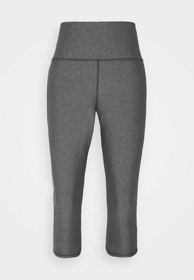 CAPRI - 3/4 sports trousers - charcoal light heather