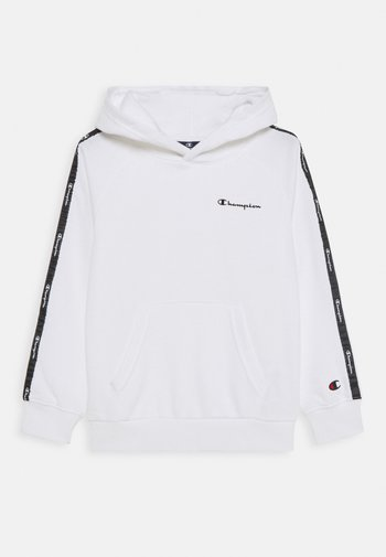 LEGACY AMERICAN TAPE HOODED UNISEX - Jersey con capucha - white