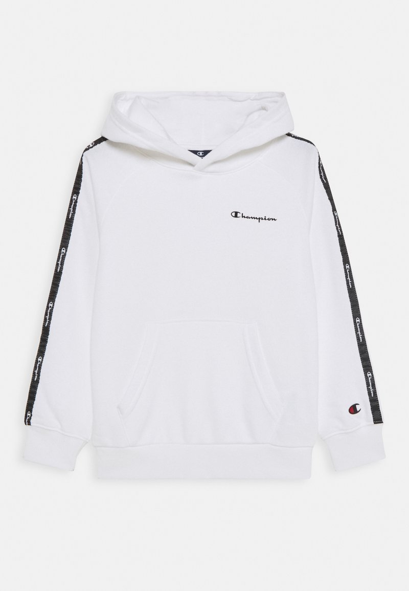 Champion - LEGACY AMERICAN TAPE HOODED UNISEX - Hættetrøjer - white