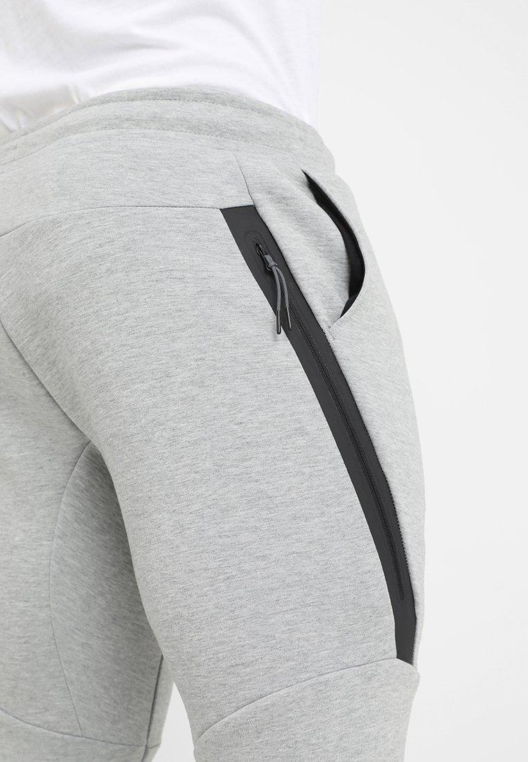 Nike Sportswear Tech Tracksuit Bottoms Grey Mottled Grey Zalando Co Uk