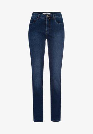 STYLE MARY - Jean slim - used dark blue