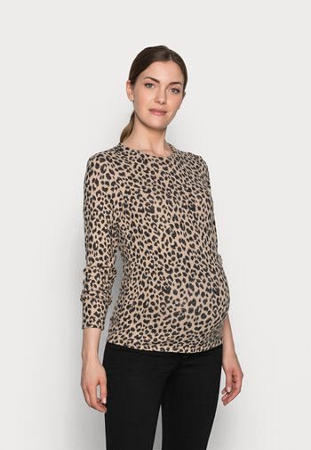 PCMPOLLY - Jumper - warm taupe