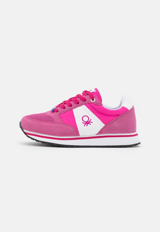 WORD MIX - Sneakers laag - fucsia