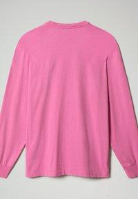 Napapijri - S-BOX LS - Long sleeved top - pink super - 6