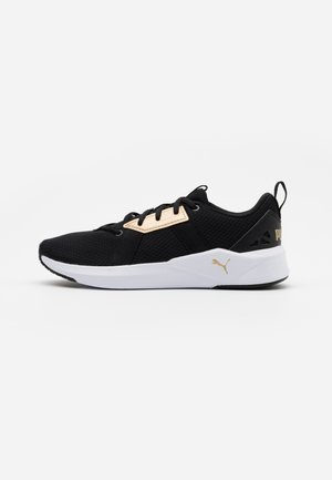 CHROMA - Sports shoes - black/team gold