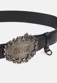 Versace Jeans Couture - Belt - black/gunmetal - 3