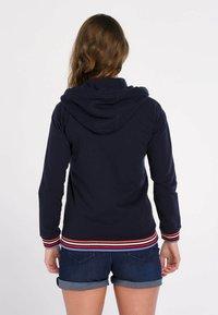 J&JOY - veste en sweat zippée - blauw - 2