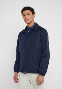 Polo Ralph Lauren - COACHES JACKET - Chaqueta fina - aviator navy - 0