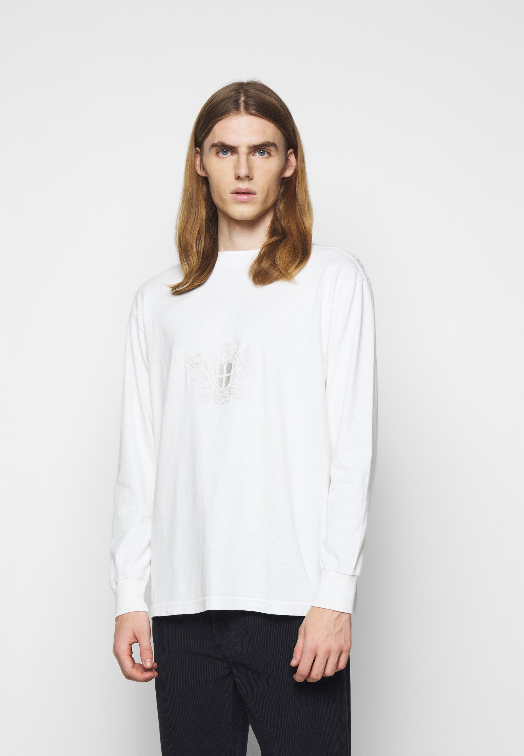 Homme BOXY LONG SLEEVE TEE - T-shirt à manches longues