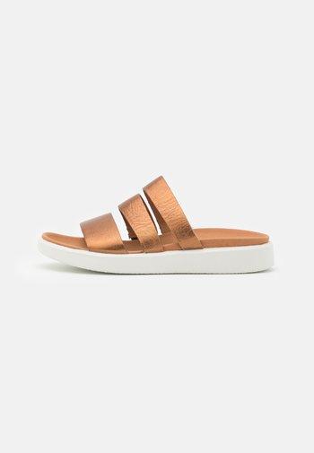 FLOWT - Mules - bronze