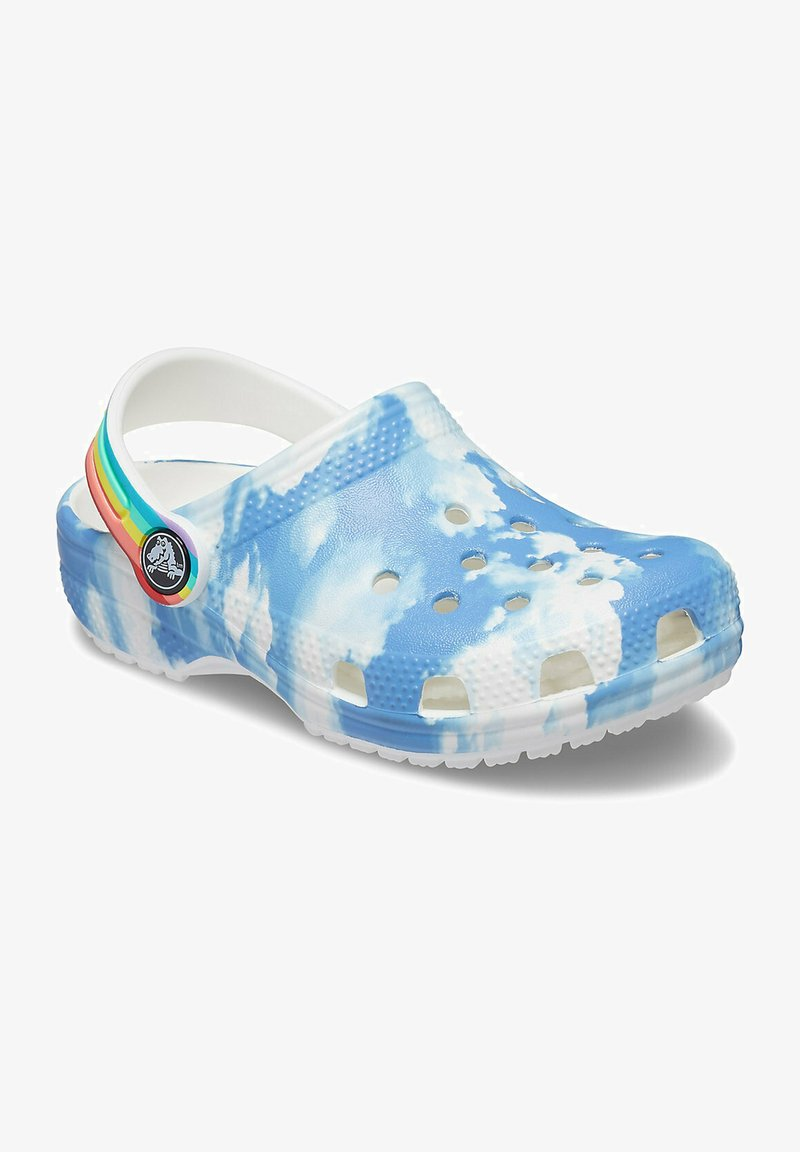 Crocs - CLASSIC OUT OF THIS WORLD - Pool slides - white