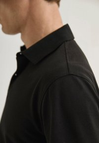 Massimo Dutti - Polo shirt - black - 3
