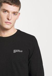 s.Oliver - Långärmad tröja - black - 3