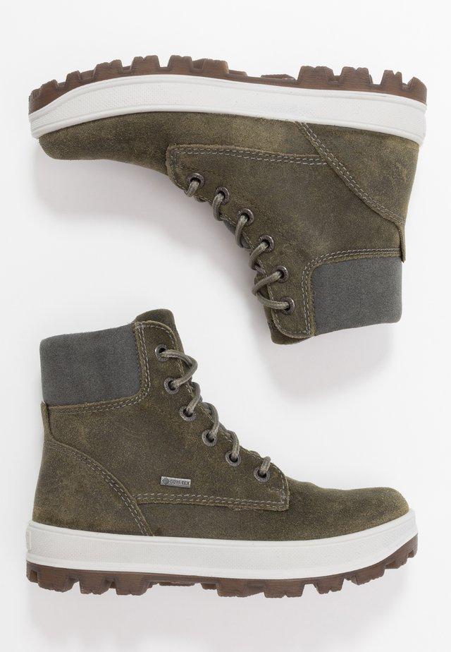 TEDD - Šněrovací kotníkové boty - grün