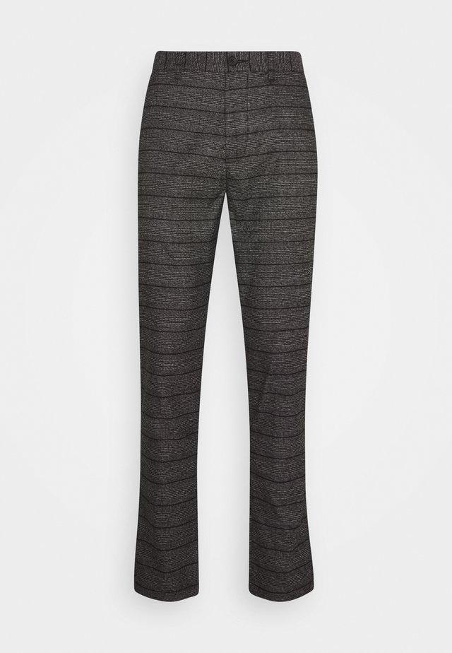 PANTS BARRO - Pantalon classique - grey