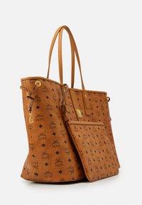 MCM - SHOPPER PROJECT VISETOS SET - Handbag - cognac - 5