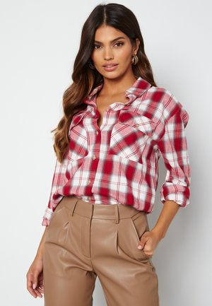 PIE  - Button-down blouse - red