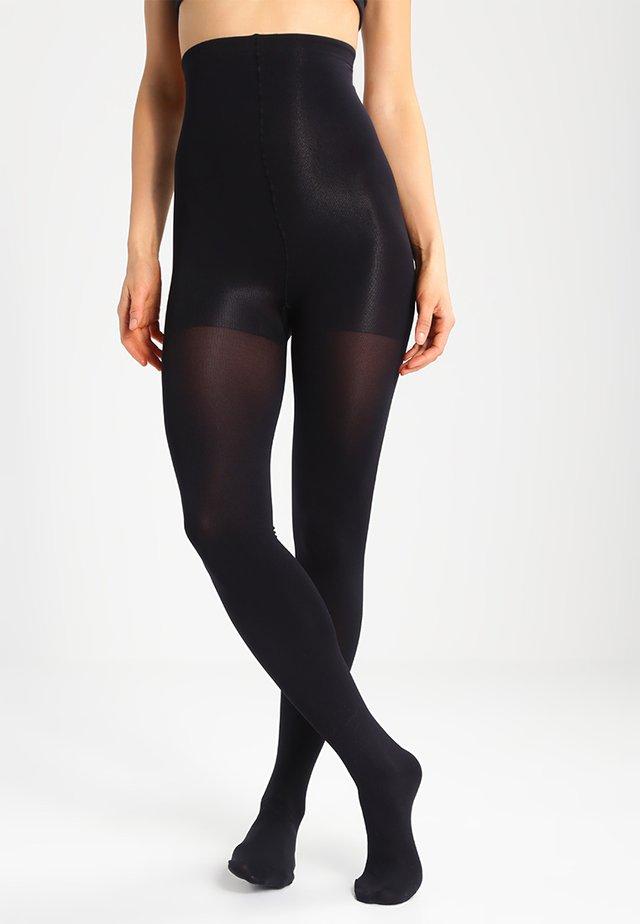 140 DEN HI WAIST SLIM - Panty - black