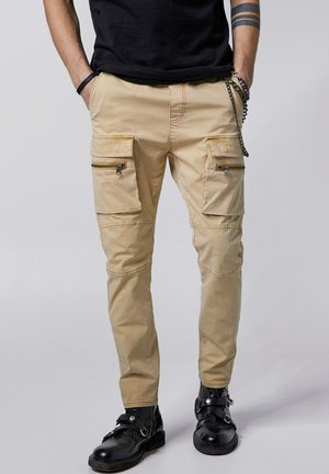 FRYCO - Cargo trousers - vintage sand