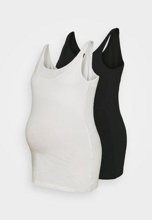 MLSIA NELL TANK 2 PACK - Top - black/white