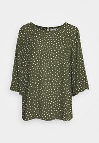 Kaffe - KABILLIE AMBER BLOUSE - Blouse - grape leaf/chalk - 4