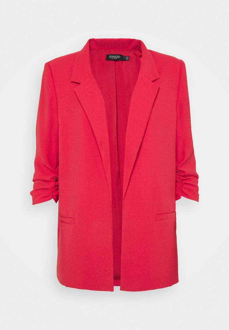 Soaked in Luxury - SLSHIRLEY - Blazer - cardinal