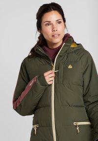 Burton - KEELAN  - Snowboardová bunda - olive - 3