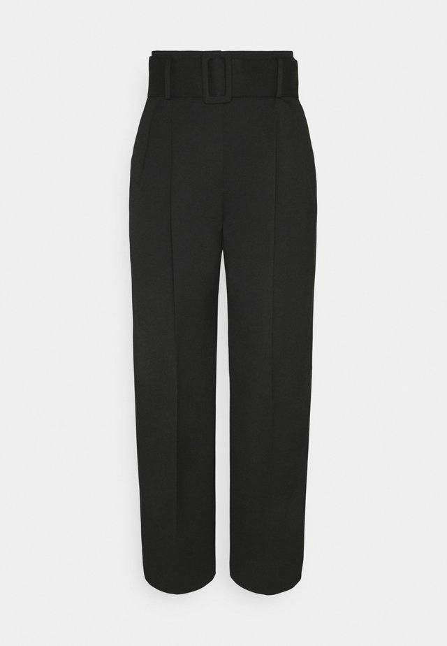HUGESA - Pantaloni - black