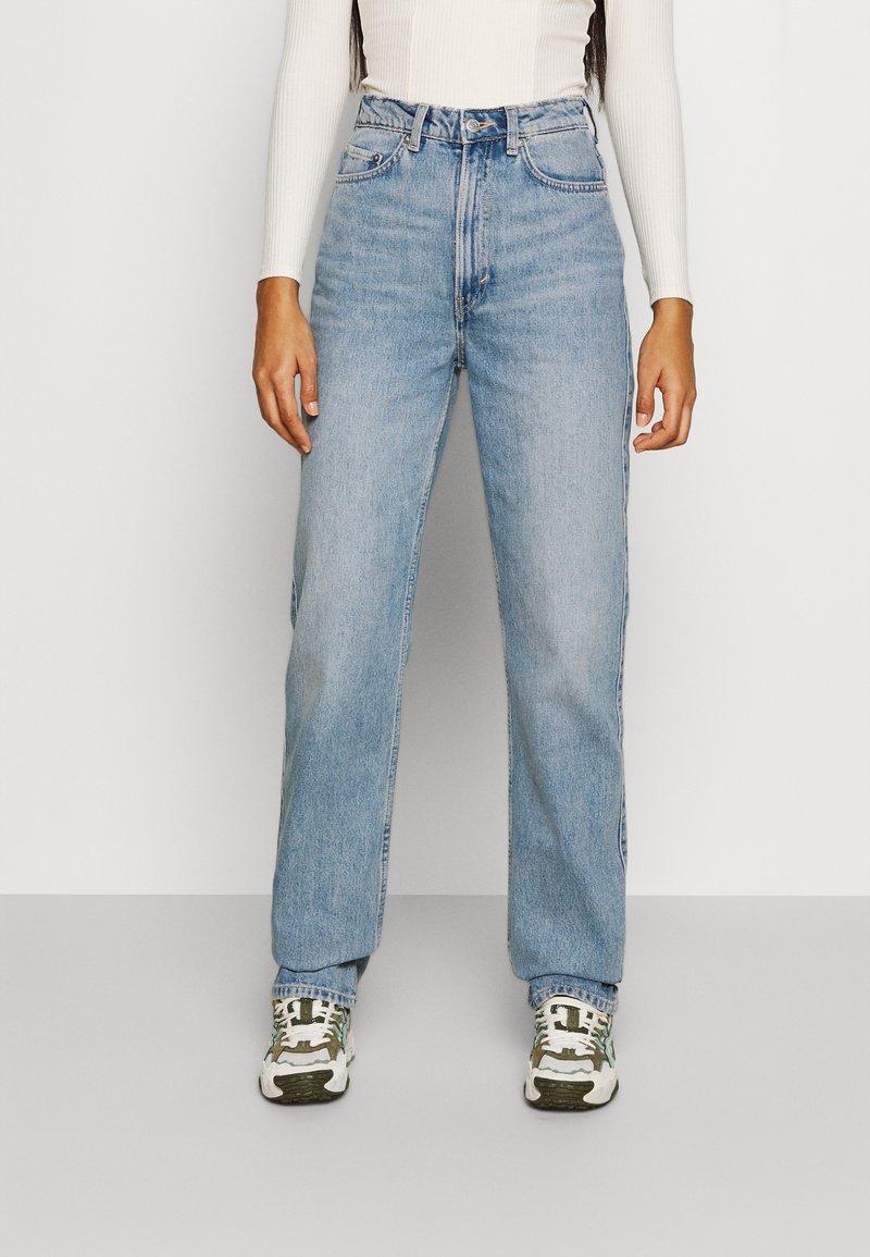 Weekday - ROWE - Straight leg jeans - verona blue