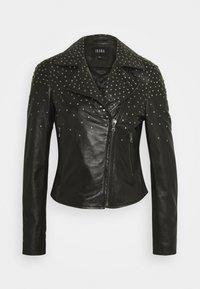 Ibana - BRENN - Leather jacket - black - 0