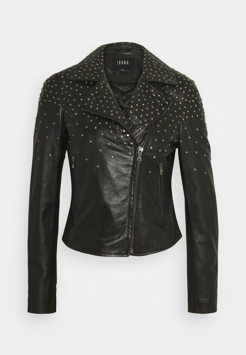Ibana - BRENN - Leather jacket - black