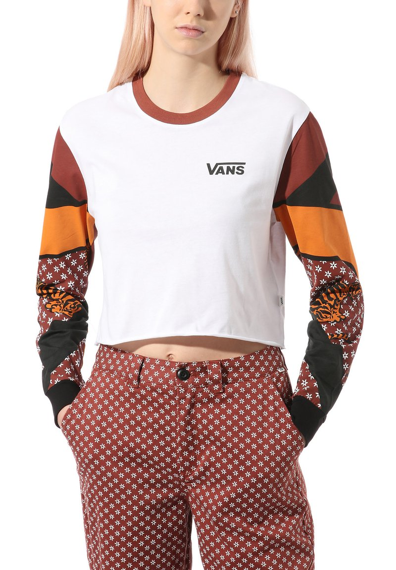 Vans - SABRE - Long sleeved top - white