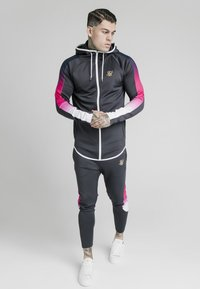 SIKSILK - ADVANCED TECH - Zip-up hoodie - midnight grey - 0