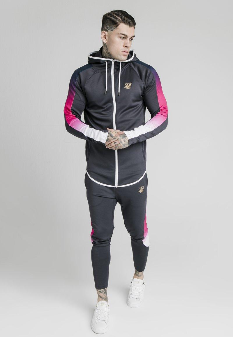 SIKSILK - ADVANCED TECH - Zip-up hoodie - midnight grey