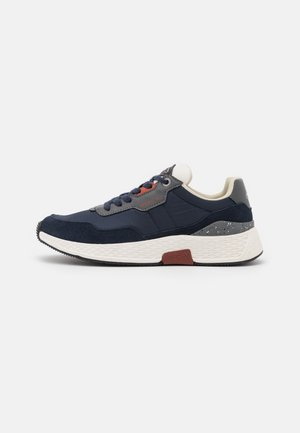 STONE MAN - Trainers - navy/grey/red