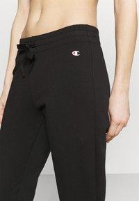 Champion - CUFFED PANTS - Pantaloni sportivi - black - 4