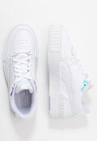 Puma - CALI SPORT GLOW - Baskets basses - white/purple heather - 5