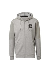 adidas Performance - MUST HAVES FULL-ZIP STADIUM HOODIE - Sudadera con cremallera - grey - 10