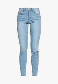 Vero Moda - VMTANYA PIPING - Slim fit jeans - light blue denim - 4