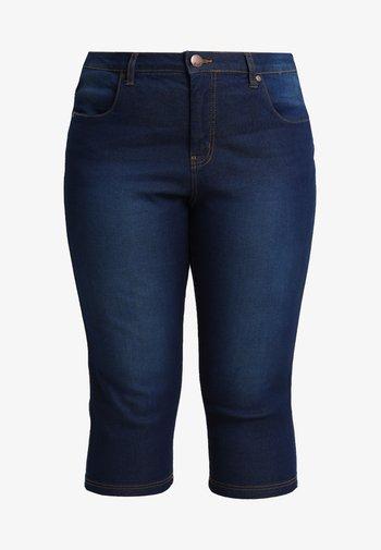 EMILY - Denim shorts - blue denim