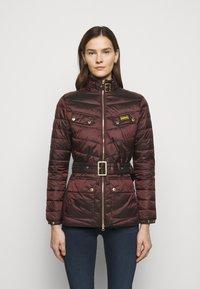 Barbour International - GLEANN QUILT - Light jacket - cocoa - 0
